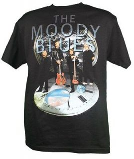 The Moody Blues Strange Times Mens Concert Tour T Shirt 1999 New