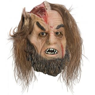 Calibos Costume Mask with Hair Adult Mens Greek Mythology God Monster