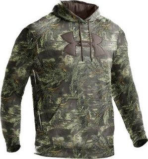NEW Under Armour Camo Big Logo Hoodie ADVANTAGE MAX 1 size MEDIUM