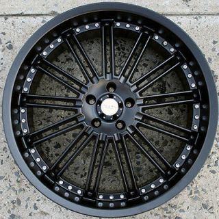 KASINO SLOT 679 22 BLACK RIMS WHEELS FORD FUSION FLEX MUSTANG / 22 X