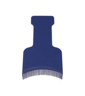 SIBEL HIGHLIGHTING SPATULA/PADDLE BLACK/BLUE/GRE Y/WHITE WITH COMBS ON