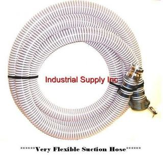20ft Heavy Duty Trash Pump Water Suction Hose