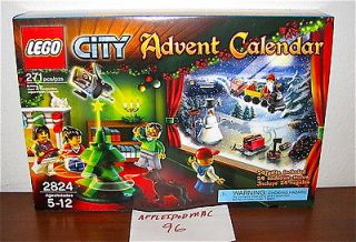 NEW SEALED LEGO 2824 CITY ADVENT CALENDAR XMAS HOLIDAY 24 GIFTS SANTA