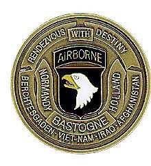 101st Airborne Division Air Assault Army Challenge Coin