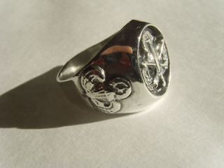 Newly listed Old SPECIAL FORCES AIRBORNE RING STERLING SILVER 925