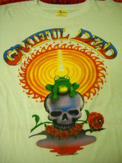 DEAD VTG CONCERT T SHIRT MOUNTAIN AIRE AUGUST 22,23 1987 XL  NEW