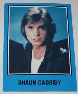 shaun cassidy albums