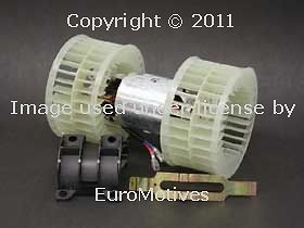 w124 (1990+) OEM Blower Motor + Fan Assembly NEW squirrel cage air