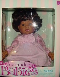 Madame Alexander Doll NEW IN BOX Alexander Babies 18 Hispanic $135