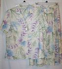 Lot 4 Womens size 1x pajamas 2 alfred dunner blouse 1 maggie barnes