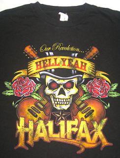 HELLYEAH  HALIFAX      HEAVY METAL T SHIRT       SIZE MEDIUM