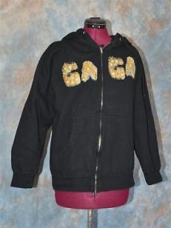 2011 Lady Gaga Hoodie Jacket 2 Side Born This Way w/ Unicorn Licensed