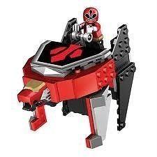 Mega Bloks Power Ranger Samurai Lion Zord Play Set Kids Toy UK SELLER