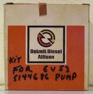 GM Detroit Allison Water Pump Kit p/n 5144686 Right Hand Rotation NIB