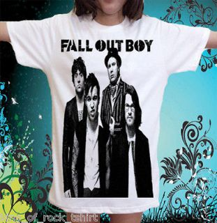 Fall Out Boy indie pop band Arctic Monkeys Music T Shirt Sz.L