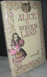 Alice in Wonderland by Lewis Carroll (1985, Hardcover) book, classic