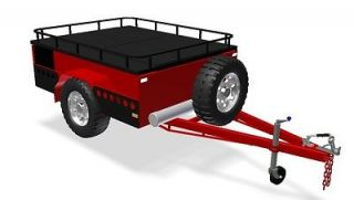 OFF ROAD Camper Trailer PLANS   Trailer Design  3 Sizes