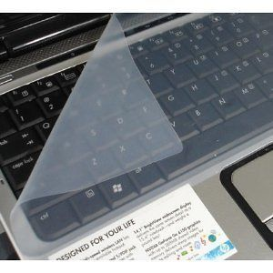 New Clear Protector Cover Universal Laptop Silicone Keyboard Skin for