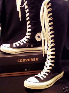 CONVERSE~Chuck Taylor Knee High~BLACK~All Sizes!~New