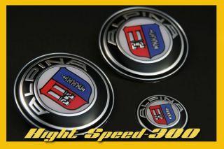 BMW Hood Trunk Steering Wheel Emblem Alpina E36 M3 E60 E30 E34 E32 E38