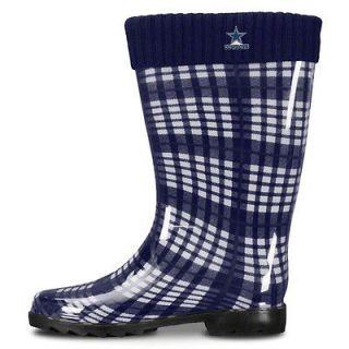 Brand NEW   Dallas Cowboys Womens Rain Boots   Free Ship