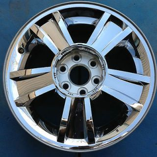 SILVERADO AVALANCHE TAHOE 1500 PICKUP 20 WHEEL RIM CHROME NICE