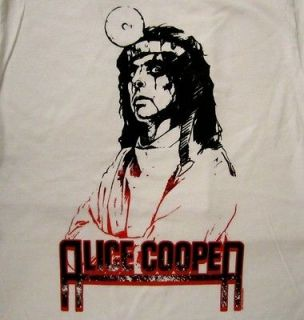 ALICE COOPER cd lgo DRS ORDERS Official SHIRT Y SMALL new