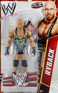WWE Mattel Ryback Action Figure Series 27 Wrestling Toy IN HAND READY