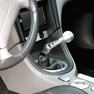 79 04 Ford Mustang Billet Rock Crusher Shifter Arm & Billet Shift Knob