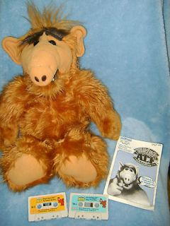 ALF ALIEN Animated TALKING Alf Storytelling Vintage Doll Coleco 3