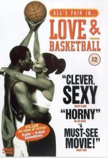 Love and Basketball DVD Sanaa Lathan, Omar Epps, Glenndon Chatman