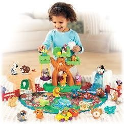 Fisher Price Little People A to Z Learning Zoo Complete Set NEW