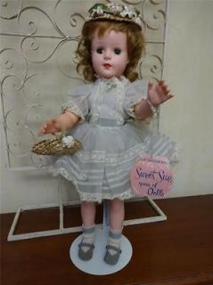 NR MINT Vtg 50s Amer Character 18 SWEET SUE Doll All Orig WRIST TAG