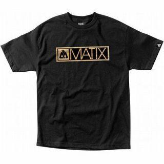 Newly listed MATIX Skateboard T SHIRT WOODEN HUNTER BLACK SZ SMALL