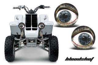 AMR RACING HEAD LIGHT EYES GRAPHIC DECAL YAMAHA BANSHEE 350 ATV PARTS