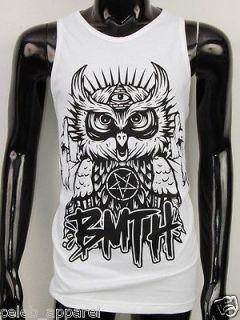 Parkway Drive BMTH Deep Blue Alternative Rock Tank Top Singlet T Shirt