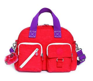 Kipling Bag Defea Block Tangerine UK RRP £70