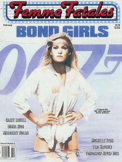 Fatales 007 Bond Girls Ursula Andress Diana Rigg Margaret Nolan NM