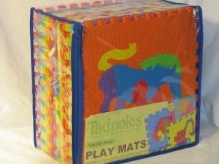 Eva Foam Puzzle ~16 12x12 pcs ~ Makes 4 Ft x 4 Ft Floor Play Mat