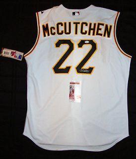Andrew McCutchen Pirates Signed AUTO Authentic Majestic Jersey JSA PSA