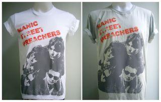 Welsh alternative rock band Manic Street Preachers handmade T Shirt