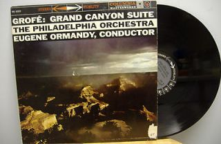 GROFE Grand Canyon Suite Ormandy lp 6 eye Stereo VG++