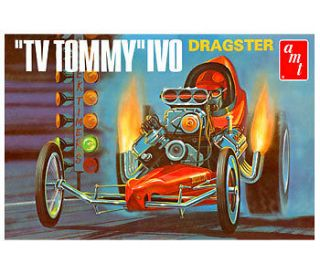 amt TV Tommy Ivo Front Engine Dragster mint in the box