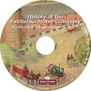 of Fairbanks Morse Co {Antique Tractor Farm Equipment Catalogs} on CD
