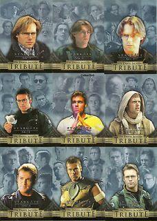 Stargate SG 1 Season 5   Dr Danel Jackson Tribute 9 Card Insert Set D1
