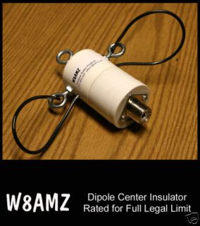 Center Insulator Dipole Wire Antenna SO 239 2KW