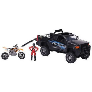 MXS Dirt Bike Toy and Truck ONeal Gear