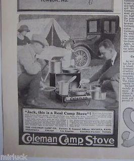 antique coleman stoves