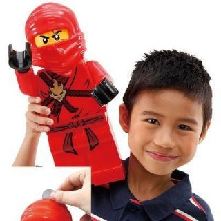 Lego Ninjago Big Red Figure Coin Money Bank 2012