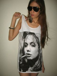 Angelina Jolie Brad Pitt Movie Star T Shirt Tank Top M